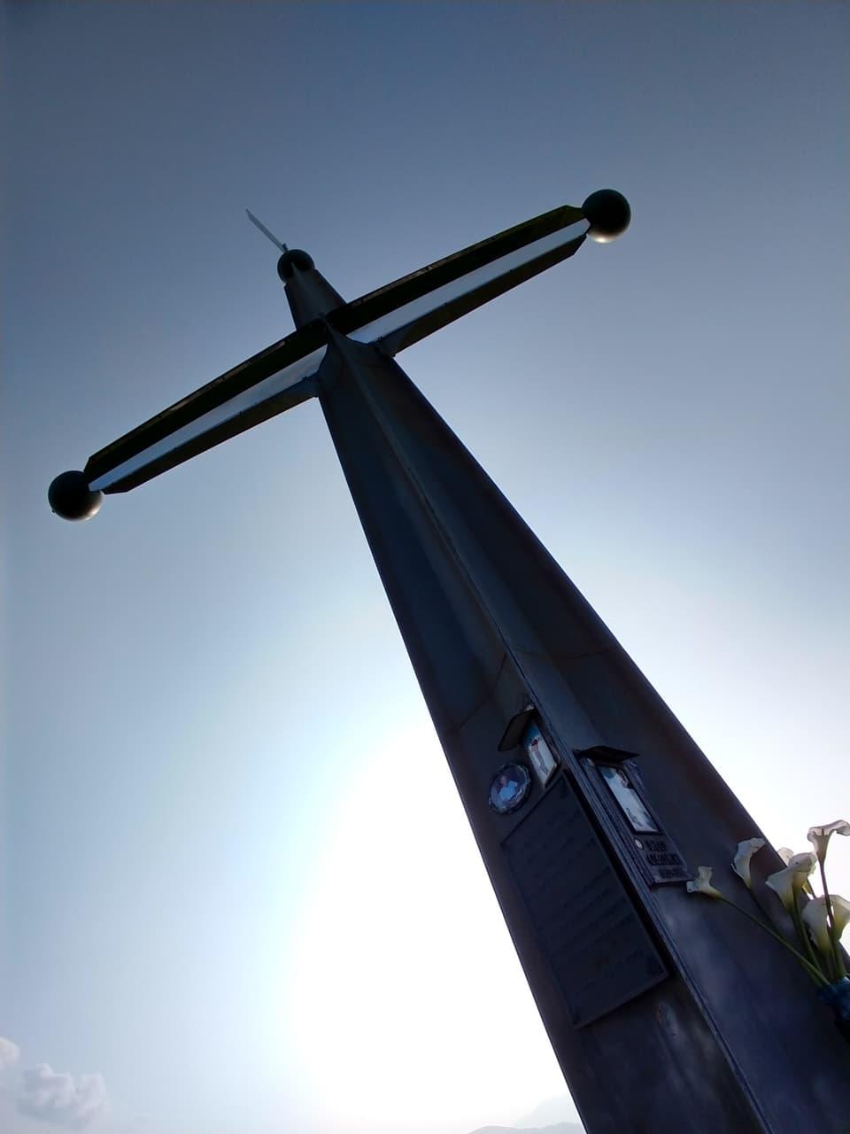 Rimango impressionato dalla dimensione di questa Croce e dalla sua maestosità