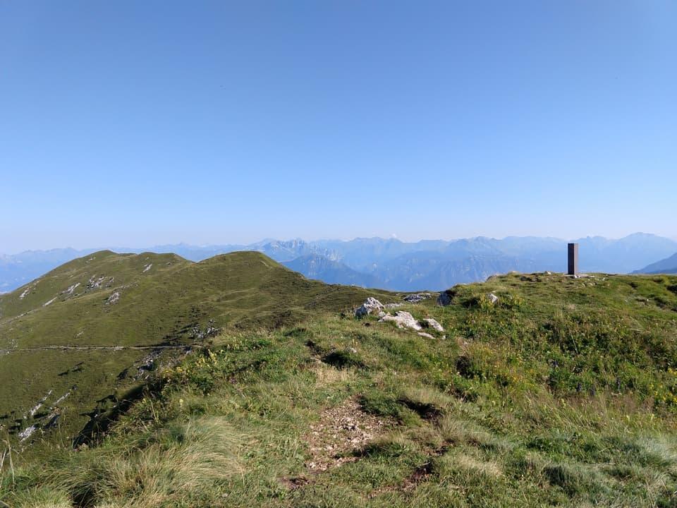 Monte Guglielmo e Croce di Marone da Zone