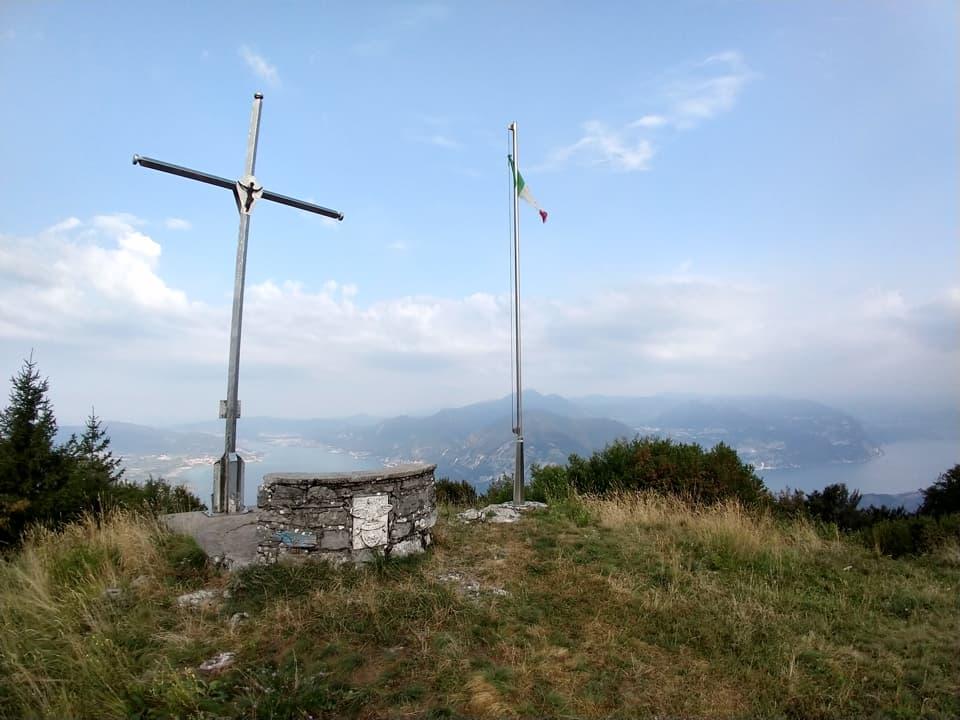 Punta dell'Orto da Pilzone di Iseo e rientro dalla Valeriana