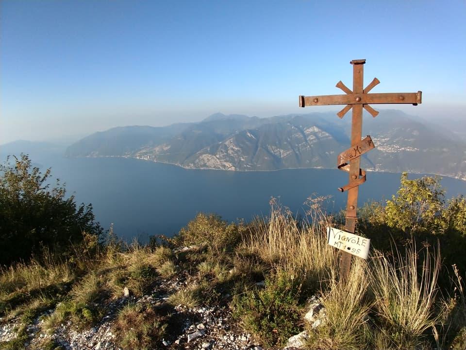 Eccomi sul Monte Vigonole, sicuramente meno suggestivo ma comunque panoramico