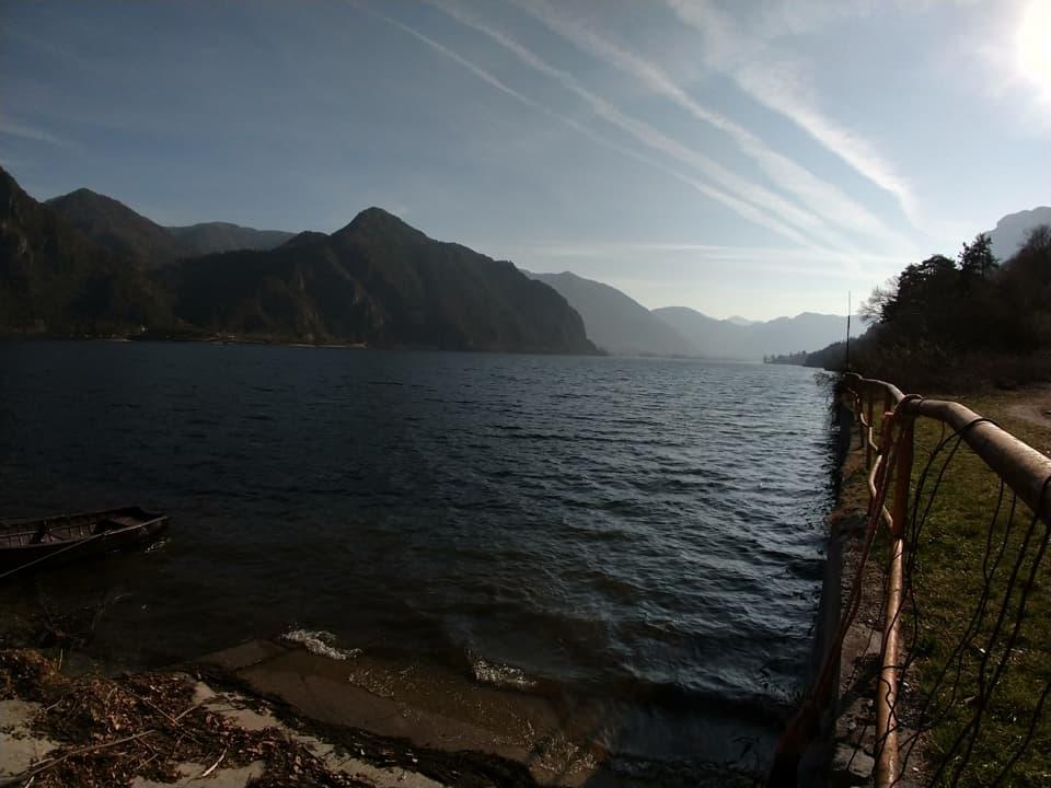 Bellissimo sentiero che da Anfo consente di tornare al punto di partenza costeggiano il lago