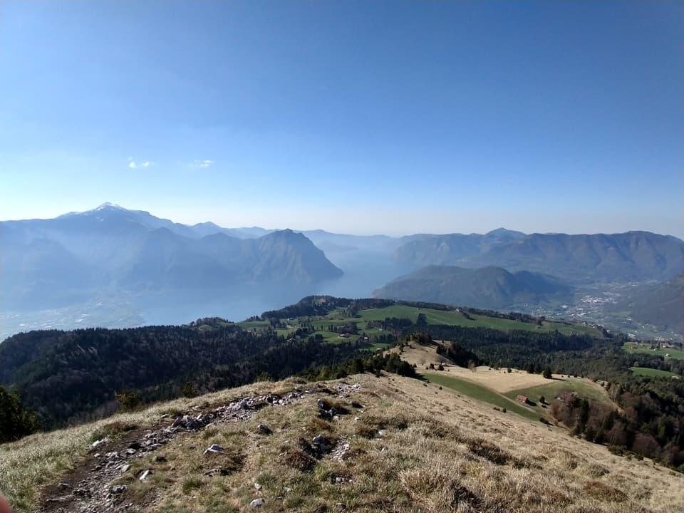 Monte Colombina e Monte Torrione da Songavazzo
