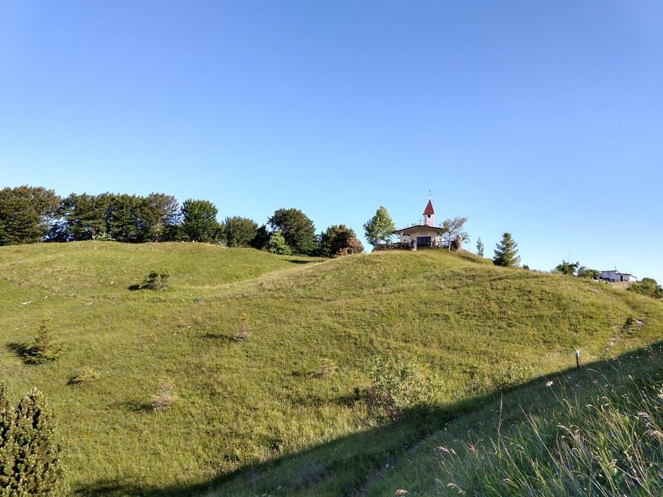 Eccomi in prossimità della Chiesa della Madonna al Campo del Gallo