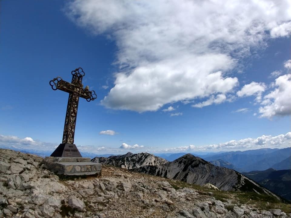 La magnifica Croce di Vetta mi regala come sempre una sensazione di totale appagamento