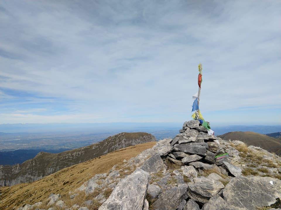 La prima vetta che decidiamo ci concederci è la Cima Nord di Serpentera a quota 2358 m.