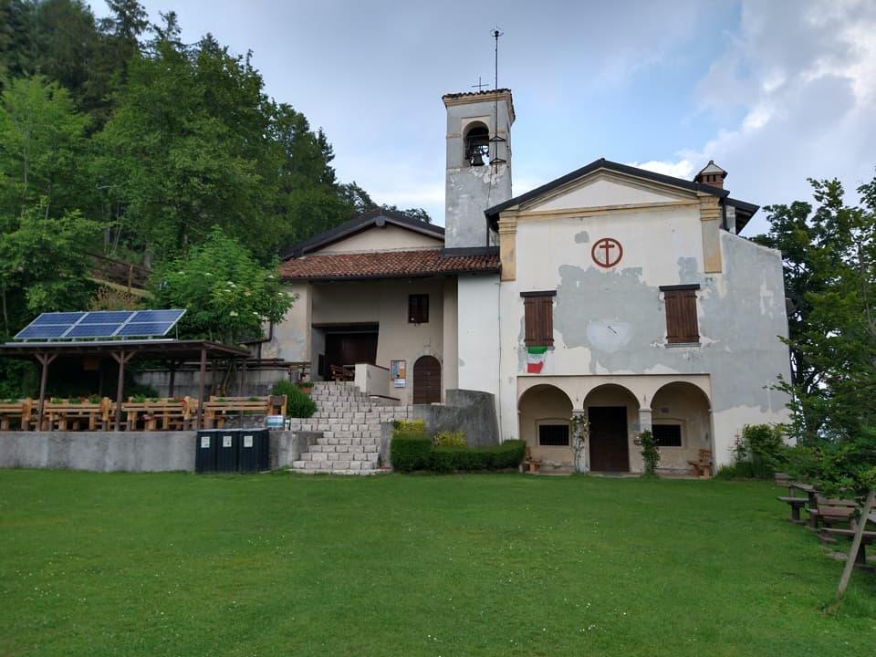 Ecco il bel santuario di Sant'Emiliano, luogo di culto molto caro ai saretini